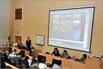 Межвузовская видеоконференция. Открыть в новом окне [65 Kb]