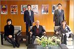 Встреча делегации ОГУ с президентом  компании Биджой. Открыть в новом окне [91Kb]