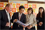 Встреча делегации ОГУ с губернатором префектуры Эхимэ. Открыть в новом окне [89Kb]