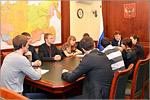 Встреча слушателей МАГУ с Сергеем Гаврилиным. Открыть в новом окне [81 Kb]