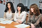 Хатира Новрузова, Екатерина Павленко и Юлия Галаева. Открыть в новом окне [90 Kb]
