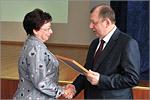 Награждение Изабеллы Белоновской. Открыть в новом окне [68 Kb]