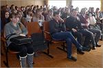Встреча одиннадцатиклассников новосергиевской СОШ №3 с представителями ОГУ. Открыть в новом окне [74 Kb]