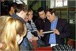 Экскурсия студентов АКИ на ОАО'Завод бурового оборудования'. Открыть в новом окне [73 Kb]