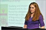 Элизабет Макбин, лектор из США. Открыть в новом окне [78 Kb]