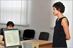Екатерина Мишнева, преподаватель кафедры РФМПРЯ ОГУ. Открыть в новом окне [67 Kb]