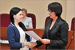 Награждение победителей интеллектуального марафона 'Лучший ученик города Оренбурга'. Открыть в новом окне [78 Kb]