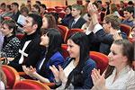 Награждение победителей интеллектуального марафона 'Лучший ученик города Оренбурга'. Открыть в новом окне [76 Kb]