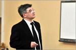 Михаил Кучеренко, завкафедрой радиофизики и электроники ОГУ. Открыть в новом окне [45 Kb]