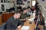 Андрей Спиридонов (на переднем плане). Открыть в новом окне [85 Kb]