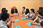 Встреча магистрантов с Сергеем Летутой. Открыть в новом окне [75 Kb]