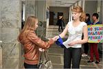 Эколого-просветительская акция 'Защитим тюльпаны Шренка!'. Открыть в новом окне [78 Kb]