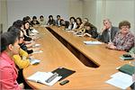 Встреча с магистрантами из Казахстана. 2013 год. Открыть в новом окне [85Kb]