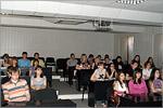 Встреча студентов ФЭФ со студентами Казанского госуниверситета. Открыть в новом окне [74 Kb]