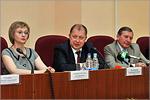 Светлана Алёшина, Владимир Ковалевский, Виктор Боев. Открыть в новом окне [63 Kb]