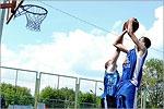 Соревнования по уличному баскетболу. Открыть в новом окне [78 Kb]