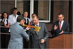 Открытие нового учебного корпуса. Открыть в новом окне [76 Kb]