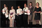 Вручение сертификатов о прохождении стажировок в Университете Хиросимы. Открыть в новом окне [72 Kb]