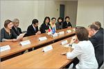 Встреча с членами Общества японо-российских связей. Открыть в новом окне [70 Kb]