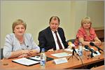 Пресс-конференция, посвященная подготовке к ЕГЭ молодых мам. Открыть в новом окне [79 Kb]