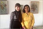 Встреча со студентами из Индии. Открыть в новом окне [66 Kb]