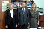 Специалисты ОГУ в Кызылординском госуниверситете. Открыть в новом окне [70 Kb]