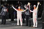 Эстафета олимпийского огня. Открыть в новом окне [75 Kb]