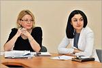 Татьяна Носова и Наталья Ковалёва. Открыть в новом окне [50 Kb]