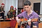 Празднование католического Рождества на кафедре НФМПНЯ. Открыть в новом окне [93 Kb]