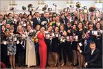 Награждение лауреатов ежегодного конкурса 'Студент года'. Открыть в новом окне [124 Kb]