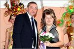 Светлана Красникова на вручении награды на конкурсе 'Студент года'. Открыть в новом окне [84 Kb]
