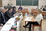 Заседание государственной экзаменационной комиссии на кафедре ГиМУ. Открыть в новом окне [73 Kb]