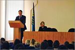 Встреча студентов ЮФ ОГУ с представителями избирательной комиссии. Открыть в новом окне [75 Kb]