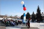 Митинг, посвященный дню рождения Юрия Гагарина. Открыть в новом окне [76 Kb]