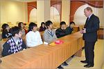 Гости из Японии в ОГУ. Открыть в новом окне [80 Kb]