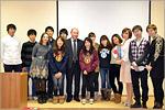 Гости из Японии в ОГУ. Открыть в новом окне [83 Kb]