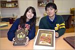 Гости из Японии в отделе редких и ценных книг ОГУ. Открыть в новом окне [84 Kb]