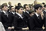 Представители ОГУ в Оренбургском Президентском кадетском училище. Открыть в новом окне [67 Kb]