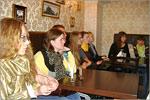 Экскурсия студентов в кафе 'Буфет'. Открыть в новом окне [83Kb]