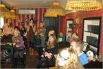 Экскурсия студентов в кафе 'Буфет'. Открыть в новом окне [82Kb]