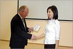 Вручение сертификатов магистрантам из Казахстана. Открыть в новом окне [38 Kb]
