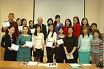 Вручение сертификатов магистрантам из Казахстана. Открыть в новом окне [79 Kb]