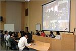 Международная видеоконференция. Открыть в новом окне [66Kb]