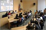 Международная видеоконференция. Открыть в новом окне [83Kb]