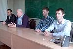 Обмен опытом выпускников со студентами. Открыть в новом окне [66 Kb]
