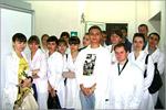 Экскурсия студентов в ООО'Комбинат школьного питания 'Подросток'. Открыть в новом окне [80 Kb]