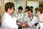 Экскурсия студентов в ООО'Комбинат школьного питания 'Подросток'. Открыть в новом окне [81 Kb]