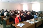 Встреча студентов ФЭУ с представителем ОАО'Уфанет'. Открыть в новом окне [81 Kb]