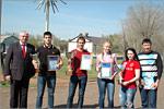 Награждение победителей спартакиады 'Университет-2014'. Открыть в новом окне [80 Kb]