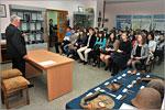 Встреча студентов с ветераном Великой Отечественной войны. Открыть в новом окне [80 Kb]